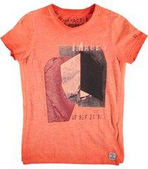 garcia stevig jongens shirt oranje