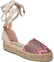 ya-al02-gr tonga sandaletter expadrilles låga rosa wonders