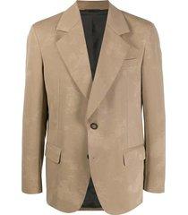 jabir j pr twill suit jacket