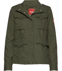 cny rookie shacket outerwear jackets utility jackets groen superdry