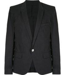 balmain classic formal blazer - black