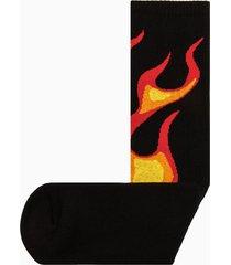 palm angels burning socks pmra001r20395017