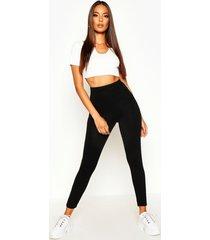 basic high waist legging, black