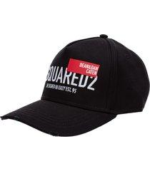 cappello berretto regolabile uomo in cotone red tag