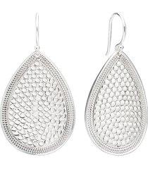 anna beck medium teardrop earrings in silver at nordstrom