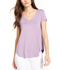 alfani v-neck knit t-shirt, created for macy's