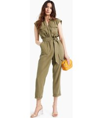 inc belted jumpsuit, created for macy's