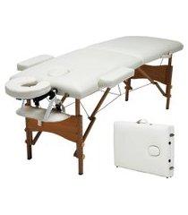cama maca massagem portátil trevalla tl-msg-13 diva dobrável creme