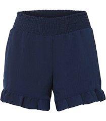 shorts con volant (blu) - bodyflirt