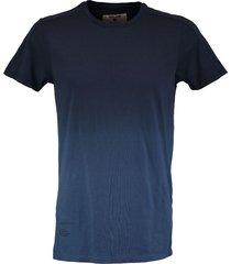 garcia stevig t-shirt blauw slim fit