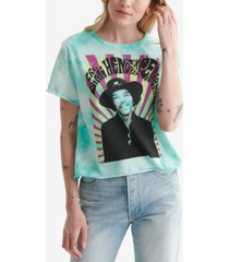 lucky brand cotton jimi hendrix graphic t-shirt