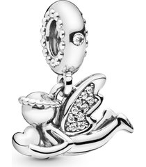 charm pendente anjo do amor - único