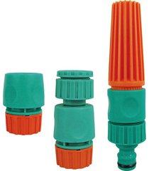 conjunto de irrigador para mangueira tramontina, 3 peças - 78580/610