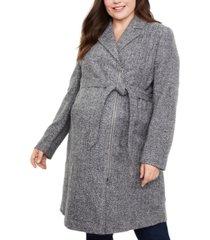 motherhood maternity plus size coat