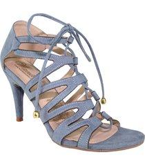 sandalias azul indigo wanted m11