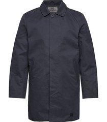 t-coat dunne lange jas blauw brixtol textiles