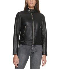 levi's trendy plus size updated racer jacket