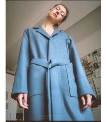 płaszcz audrey blue