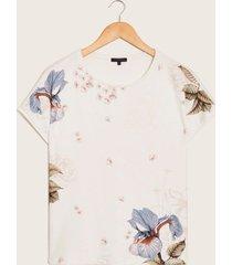 camiseta manga corta beige-xs