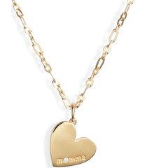 women's ela rae momma heart pendant necklace