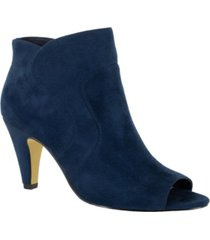 bella vita noah ii open toe dress booties women's shoes
