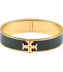 tory burch kira enamel brass bracelet
