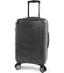 "perry ellis tanner 21"" spinner luggage"