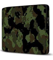 capa para notebook camuflado 15.6 à 17 polegadas