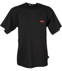 gcds basic t-shirt with rubberized logo