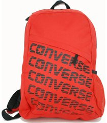 bolso rojo converse
