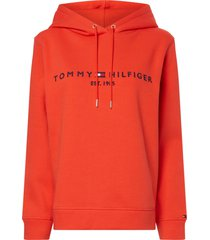 tommy hilfiger cotton hoodie with logo