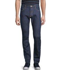 john varvatos men's woodward skinny jeans - indigo - size 30 r