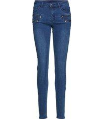 aida-je-denim skinny jeans blå free/quent