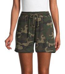 camouflage drawstring shorts
