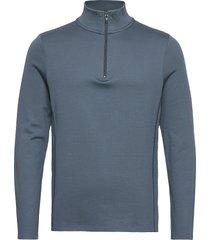 m. li l zip top sweat-shirt trui blauw filippa k