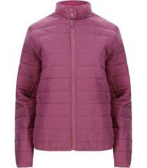 chaqueta mujer acolchada color rosado, talla l