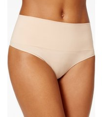 spanx women's everyday shaping panties thong ss0815