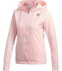 löparjacka own the run hooded wind jacket