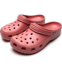 babuche crocs classic rosa