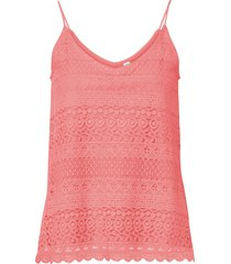 top in pizzo (rosa) - rainbow