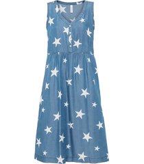 abito di jeans a stelle in tencel™ lyocell (blu) - rainbow