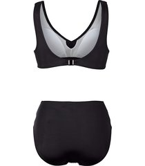 bikini maritim svart/vit