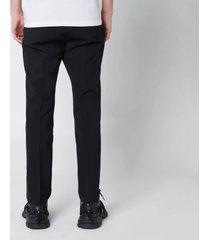 dsquared2 men's cigarette trousers - black - it 52/xl