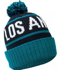 gorro los angeles verde petroleo freegun