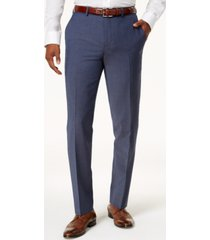 bar iii men's slim-fit active stretch wool suit pants, created for macy's