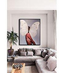 kobieta motyl - obraz lub plakat