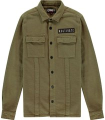 kultivate shirt soldier military olive