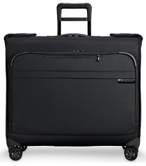 briggs & riley baseline wardrobe spinner garment bag - black