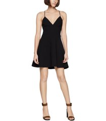 bcbgeneration plunging skater dress