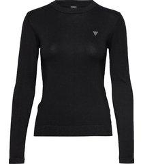 desiree sweater stickad tröja svart guess jeans